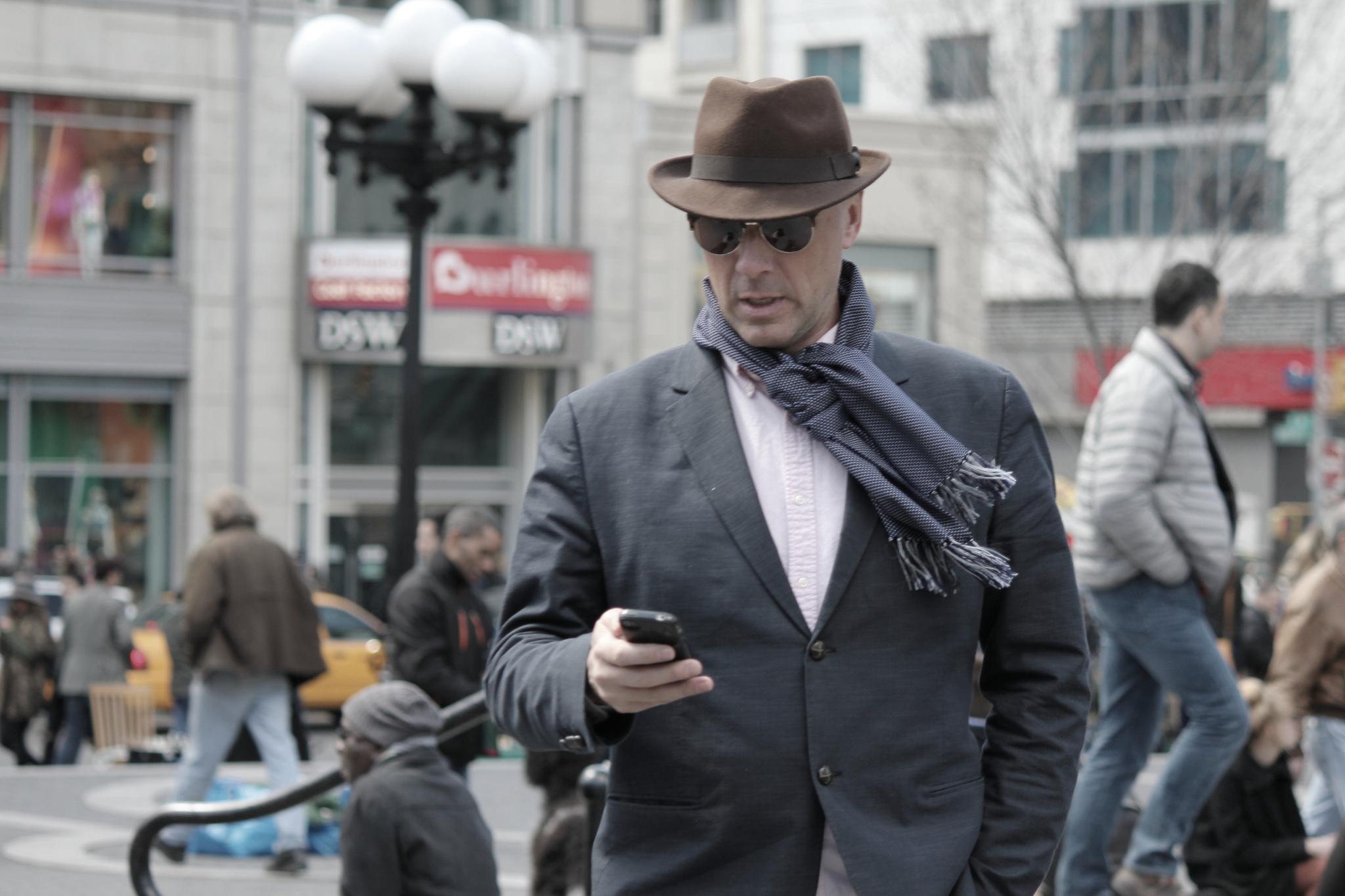 Assez Comment nouer son écharpe homme | Urban Smart Style DQ78