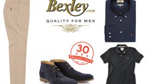 Bexley, des chaussures homme de luxe et des vêtements de luxe chics mais abordables