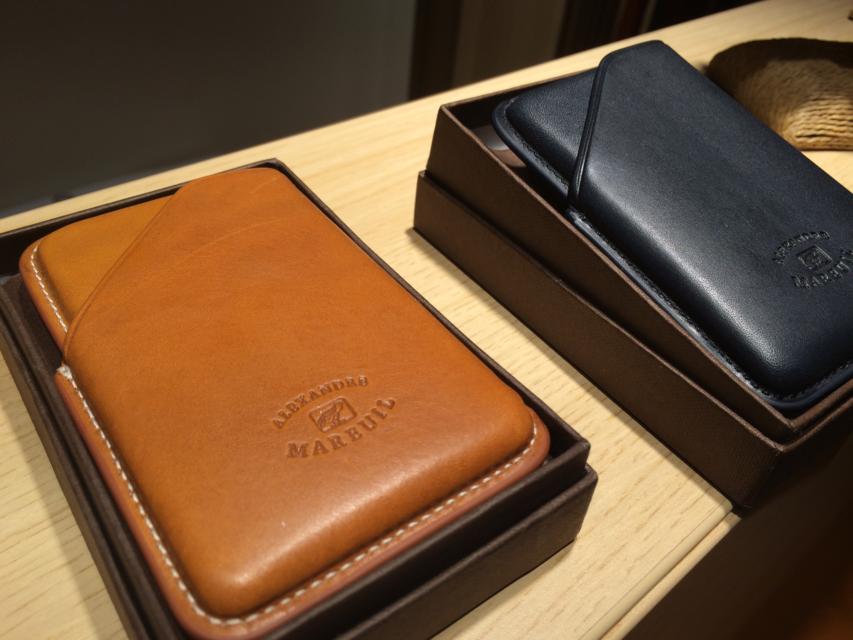 Alexandre Mareuil : LA maroquinerie en cuir pour le dandy chasseur de style